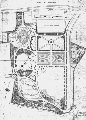 上海新建公园平面图