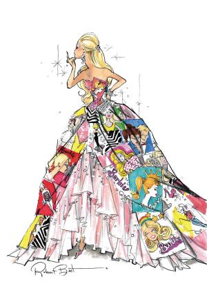 报纸做公主裙子步骤图