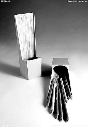 折纸笔盒步骤图解