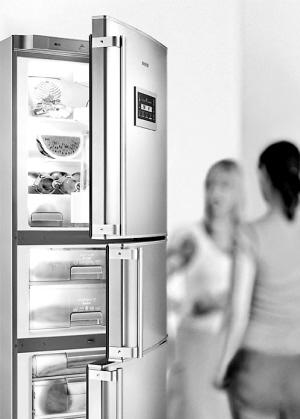 风冷式冰箱结构