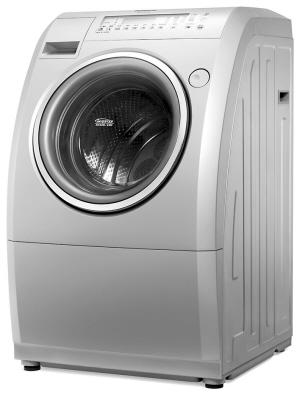 松下阿尔法斜式滚筒洗衣机领跑高端市场