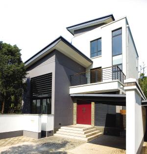 新中式独栋别墅外观