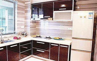 厨房转角内部结构