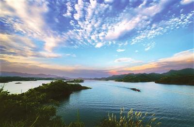 6月自驾车旅行,环湖穿越千岛湖
