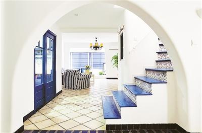 室内欧式阳台拱门造型
