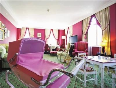 皇室欧式王子卧室
