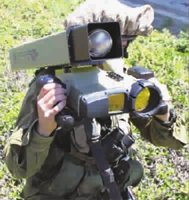 """""""长钉""""导弹是以色列拉斐尔公司于20世纪末自行研制发展的第四代反"""