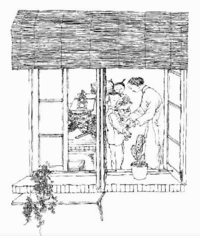 家具 简笔画 手绘 书架 线稿 装修 400_472