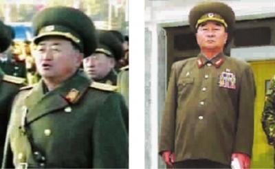 ■ 张正男(左)与前任金格植(右) 图gj
