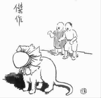 地震废墟动漫简笔画没有人物