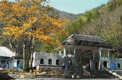赶一场民俗体验   做一回山中大王   神龙川位于浙江临安太湖源