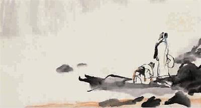 那种传统中国水墨画技法,结合动画制作所营造出的浓淡灵动的水墨影象
