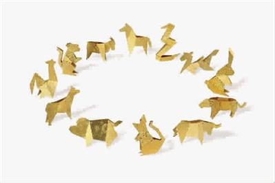圆形十二生肖剪纸教程图解步骤