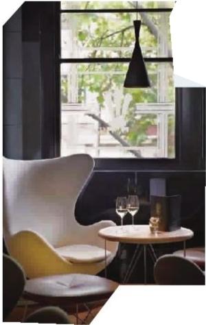 安恩·雅各布森设计的鸡蛋椅