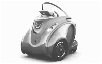 --> 在最近的东京汽车展上,日本一家公司展示了他们设计的新款电动三轮车,引发了参观者的广泛关注,因为这款电动车就像是来自科幻片中的交通工具。它的造型介于汽车和摩托车之间,还可以自动折叠。车身装有多个节能的彩色LED灯,在夜晚行驶时十分炫目。 这款电动车被厂商命名为科伯特(Kobot),意思是可骑行的机器人。