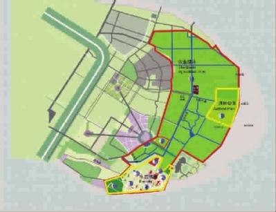 世博公园最新规划图