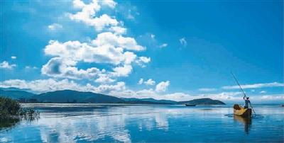 在这个春节奔向广西北海,这里没有雾霾,没有冷湿的空气,只有蓝绿的