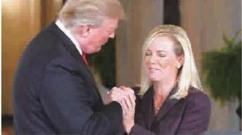 特朗普提名尼尔森为国安部长       gj图片