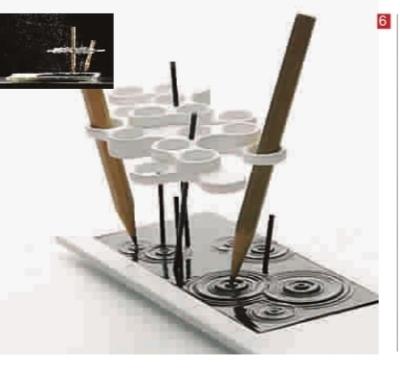纸圆笔筒的折法步骤图解