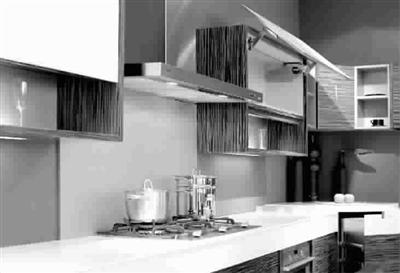 收纳设计 别有洞天   厨房在设计了整体吊柜和地