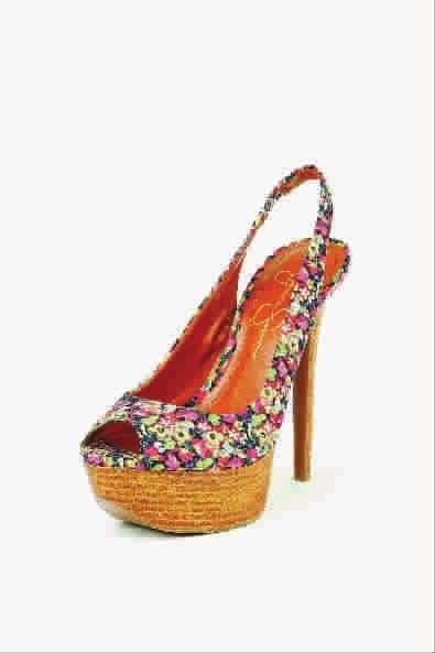 鞋子和老鼠简笔画彩色