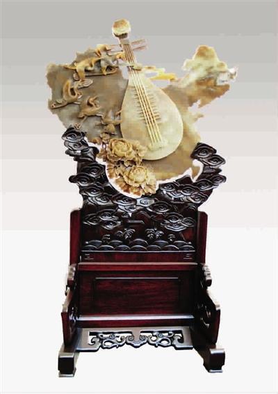 京《中国玉石雕刻作品