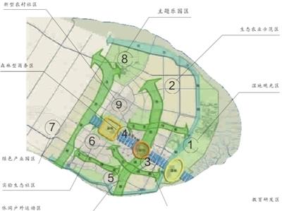 联洋社区手绘地图