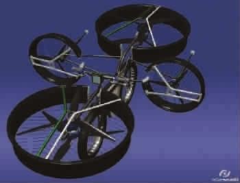 电动自行车飞起来了