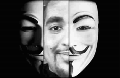美国黑客面具qq头像