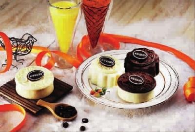 采集水果浆特制成水果冰淇淋与酸奶的独特口感绝佳相
