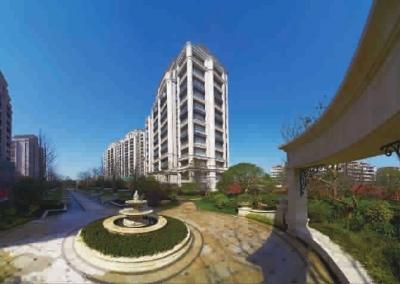 云锦东方呈现新古典主义建筑风格及法式园林景观