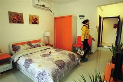 重庆公租房的单间配套户型吸引年轻人图/ic