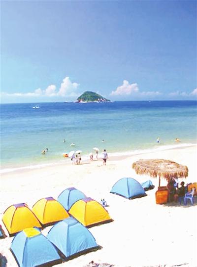 三亚情调玩法 海滩露营去