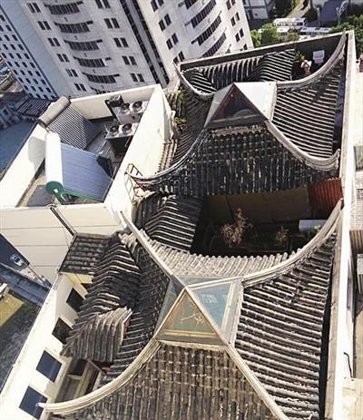 乡村平房屋顶天台改造