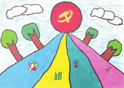 泰安幼儿园美术作品